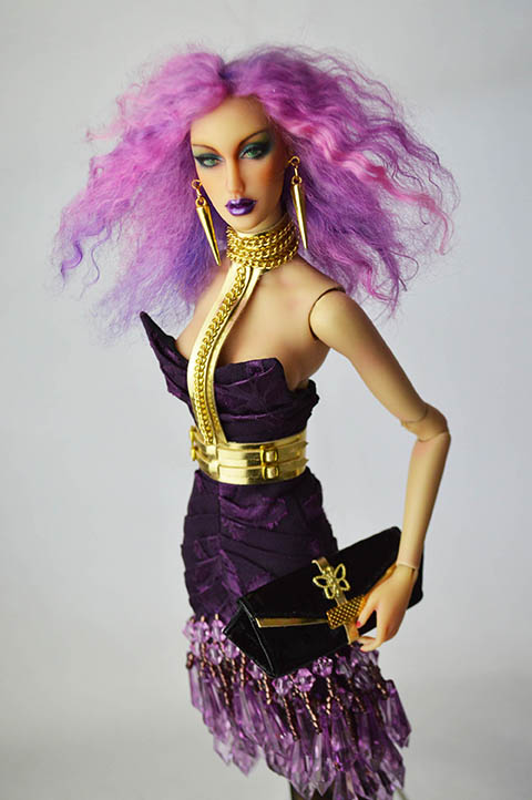 OOAK Alexandrite Couture Art Doll (SOLD)