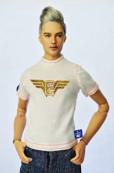 Emperis Unisex T-Shit Gold Emperis wings (Pre-Order closed)