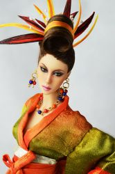 Special OOAK Nakano Kimchi Dressed Artdoll (SOLD)