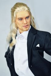 OOAK Chris Hemsworth / Thor Dressed ArtDoll (SOLD)
