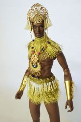 OOAK Atum Greek God Outfit only