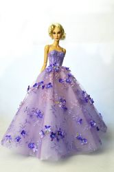 OOAK Heliotrope Dress (SOLD)