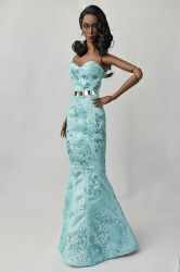OOAK Crystal Couture Dress (SOLD)