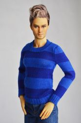 Special winter edition Unisex Blue Ice knitwear (Limited of 10 only)