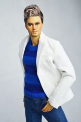 Bond White Jacket For Him (Limited of 10 only)